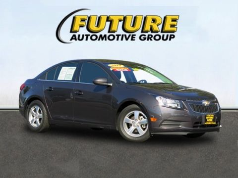 Pre-Owned 2014 Chevrolet Cruze LT w/1FL Front-wheel Drive Sedan