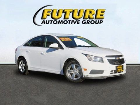 Pre-Owned 2014 Chevrolet Cruze LT Front Wheel Drive Sedan
