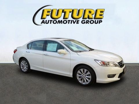 Pre-Owned 2013 Honda Accord Sdn Touring Front Wheel Drive 4dr Car