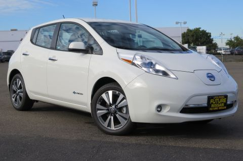 New Nissan LEAF SL