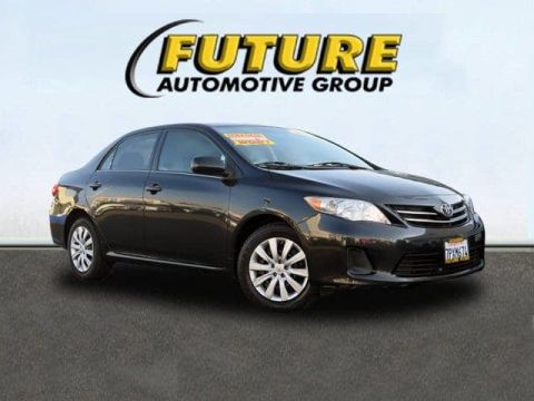 Pre-Owned 2013 Toyota Corolla S Front Wheel Drive Sedan