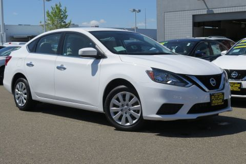 New 2017 Nissan Sentra S FWD 4dr Car