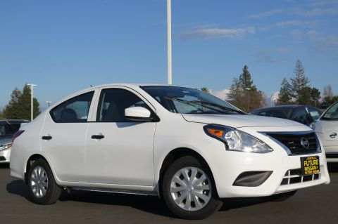 New Nissan Versa Sedan S Plus