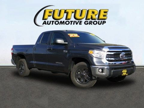 Pre-Owned 2016 Toyota Tundra 2WD Truck SR5 Rear Wheel Drive Double Cab 5.7L FFV V8 6-Spd AT SR5
