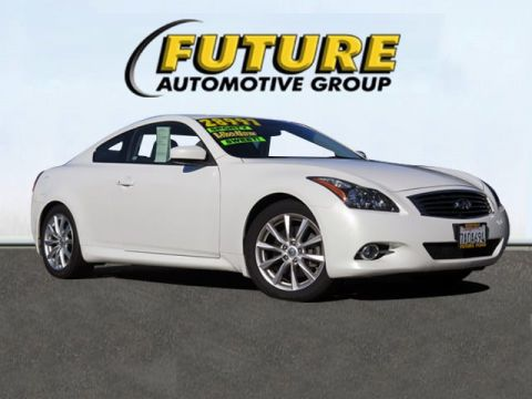 Pre-Owned 2013 INFINITI G37 Coupe  Rear-wheel Drive Coupe