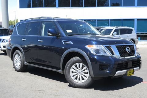 New 2017 Nissan Armada SV With Navigation & AWD