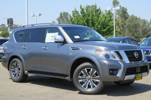 New 2017 Nissan Armada SL With Navigation