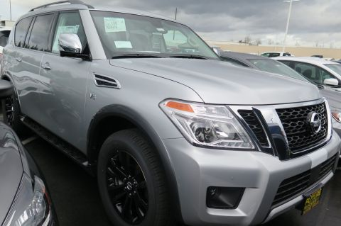 New 2017 Nissan Armada Platinum With Navigation & AWD