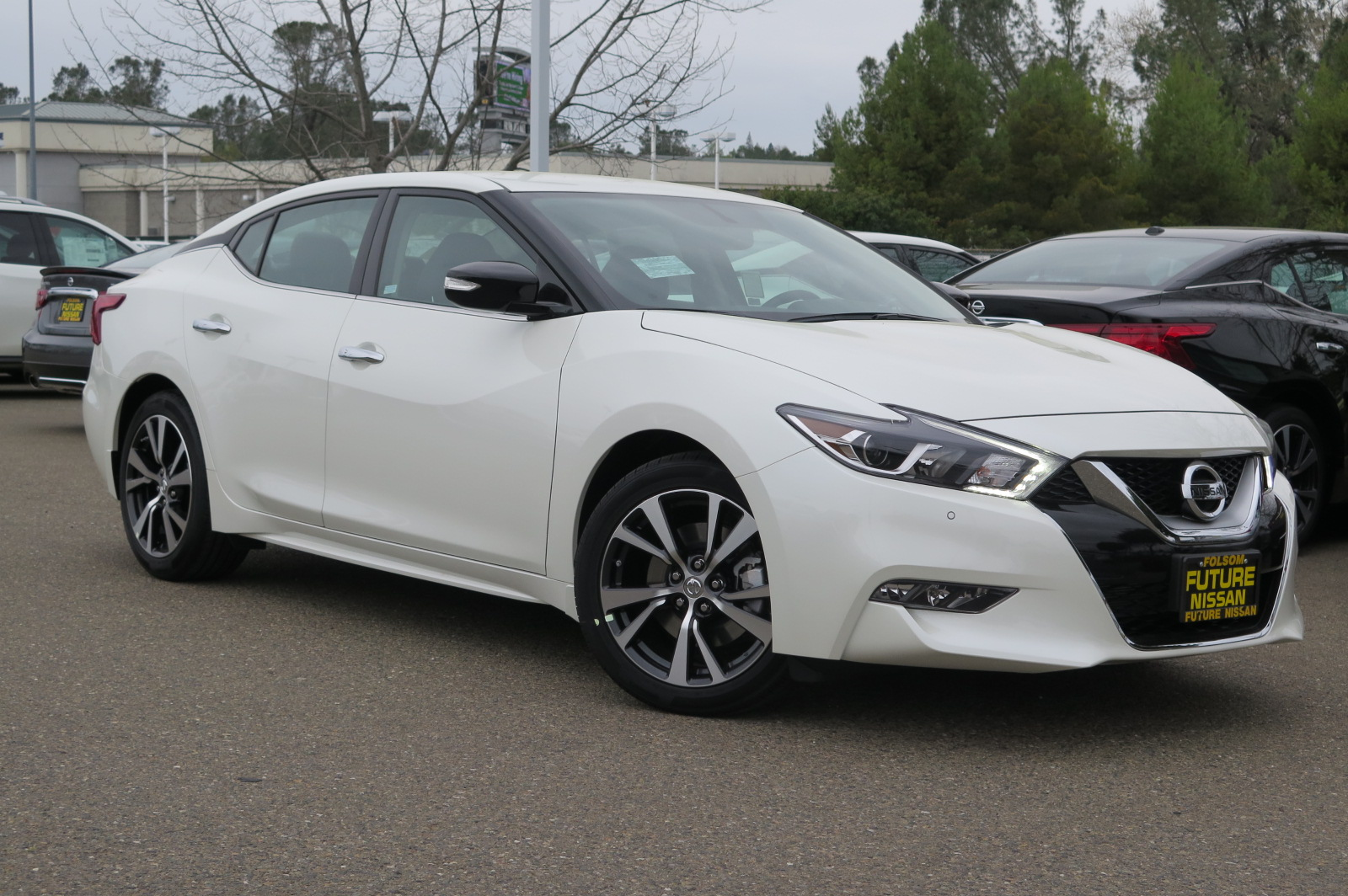 new 2017 nissan maxima 3 5 sv sedan in roseville f11071 future nissan of roseville