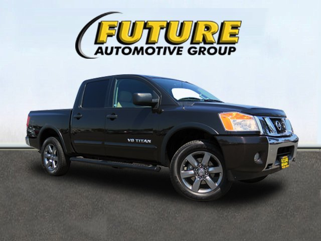Certified Pre-Owned 2015 Nissan Titan SV