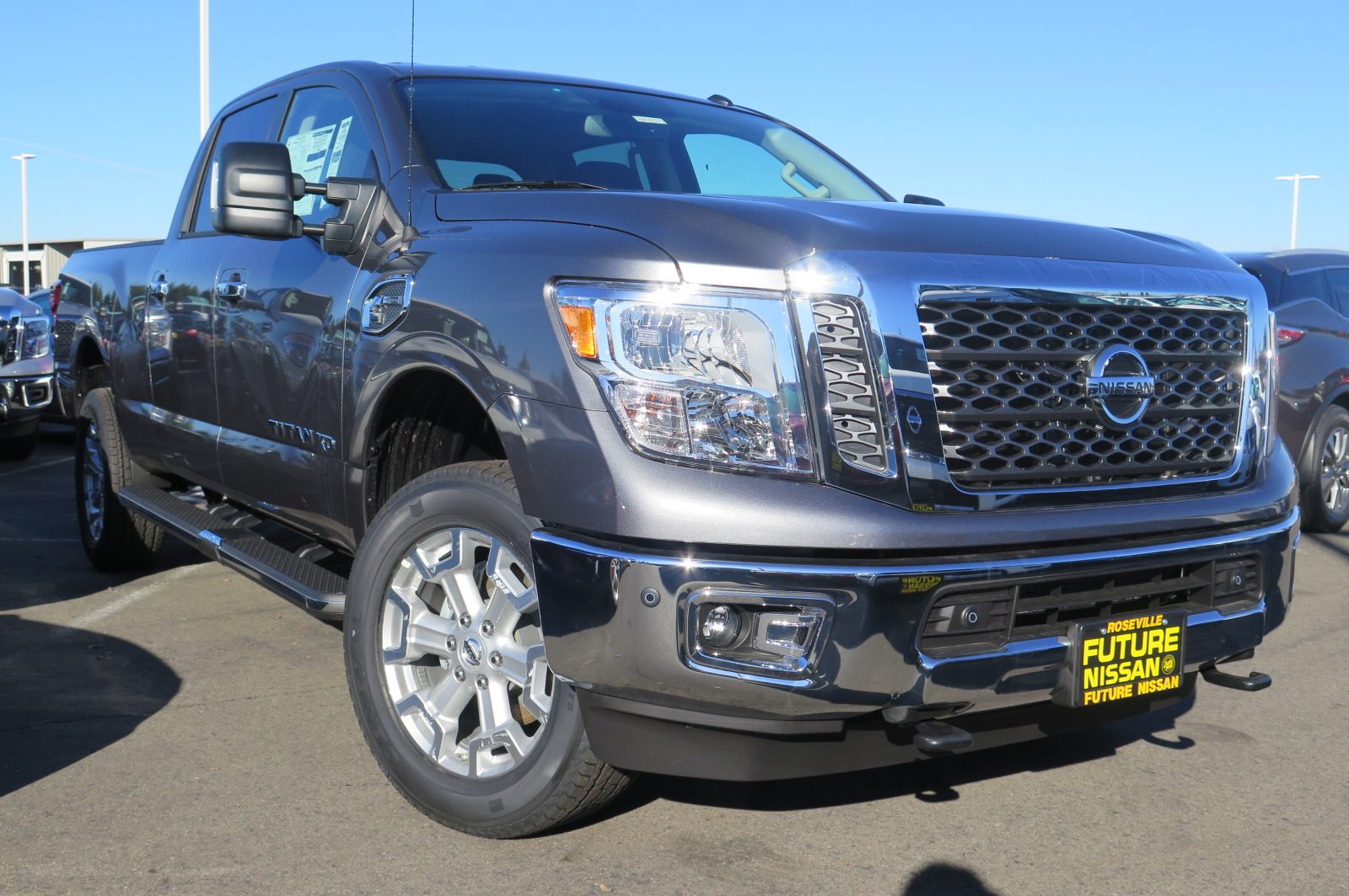 New 2017 Nissan Titan Xd Sv Crew Cab Pickup In Roseville