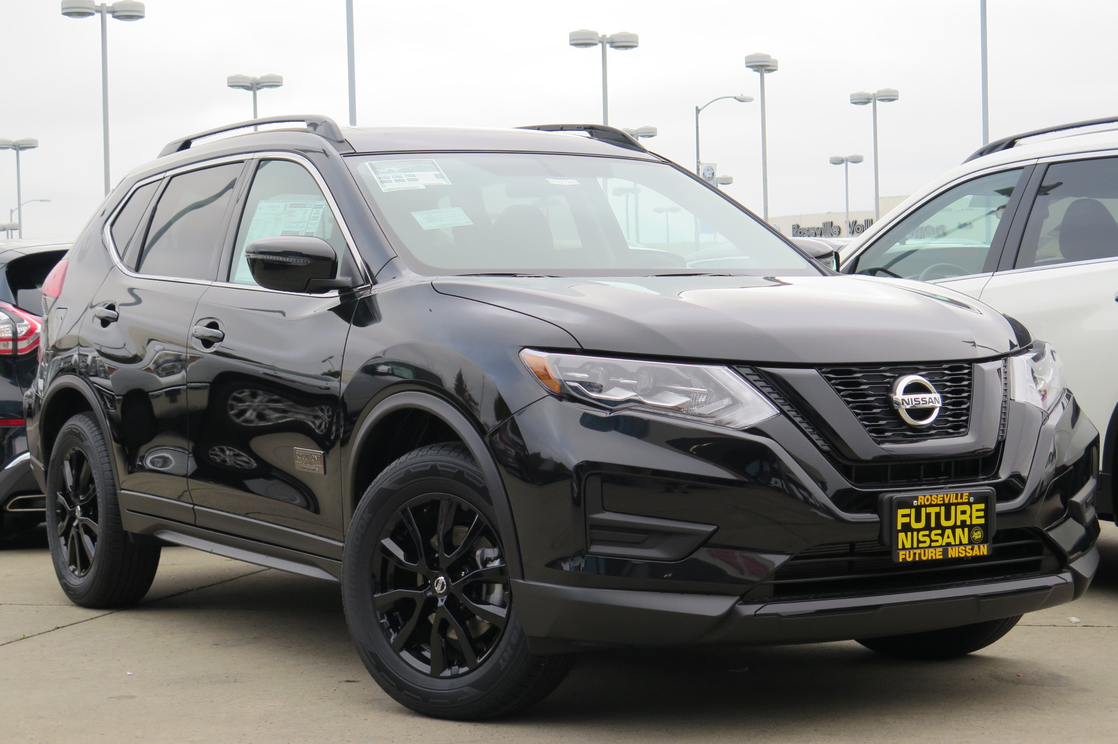 New 2017 Nissan Rogue Sv Sport Utility In Roseville