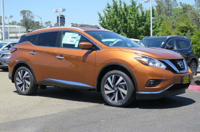 New 2016 Nissan Murano Platinum Suv In Roseville F10401
