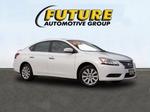 Pre-Owned 2015 Nissan Sentra SV Front Wheel Drive Sedan