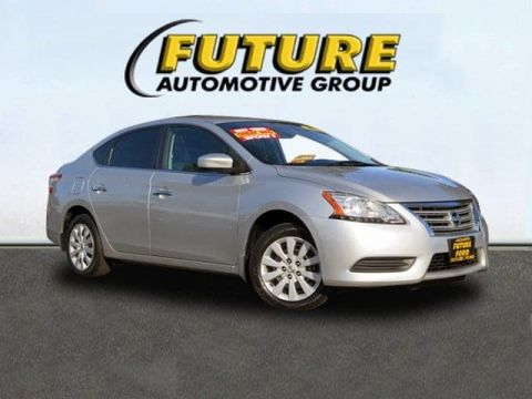 Pre-Owned 2014 Nissan Sentra SV Front Wheel Drive Sedan