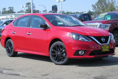 New 2017 Nissan Sentra SR Turbo FWD 4dr Car