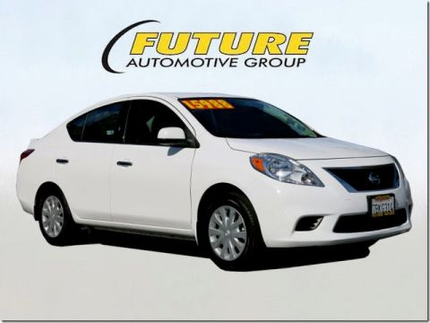 Certified Pre-Owned 2014 Nissan Versa Front-wheel Drive Sedan