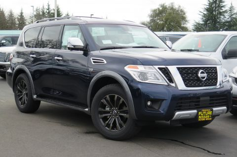 New 2017 Nissan Armada Platinum AWD