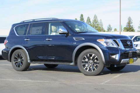 New 2018 Nissan Armada Platinum AWD