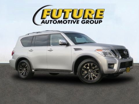 Certified Pre-Owned 2017 Nissan Armada Platinum AWD